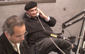 Dr. Asarulislam Syed takes Phone Call of a Radio Caller from Pakistan