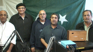 Shalimar Radio Team with a guest