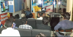 Skype Quran Lecture LIVE from California to Mandi Bahauddin